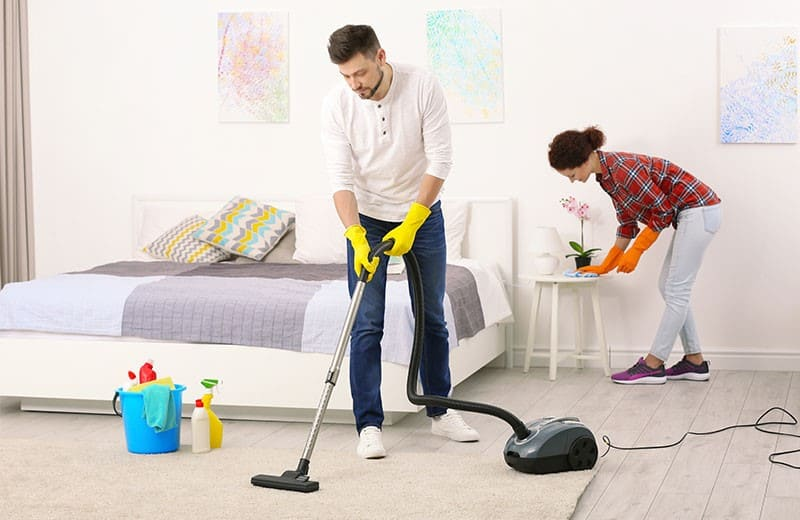 1.Start Cleaning by Simphome.com