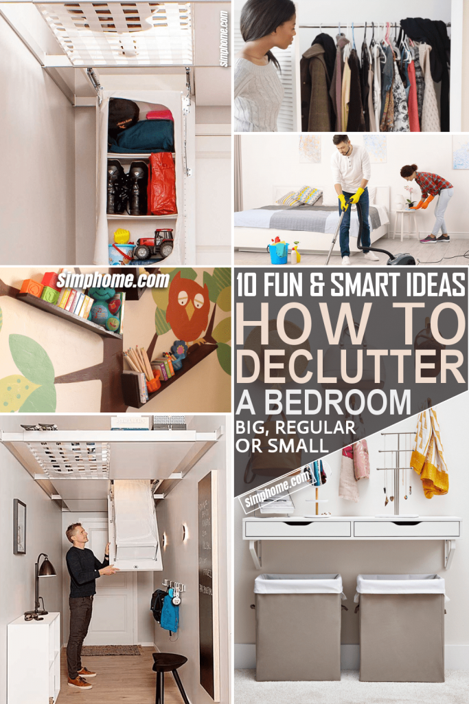 10 Ideas How to Declutter A Bedroom by Simphome.com