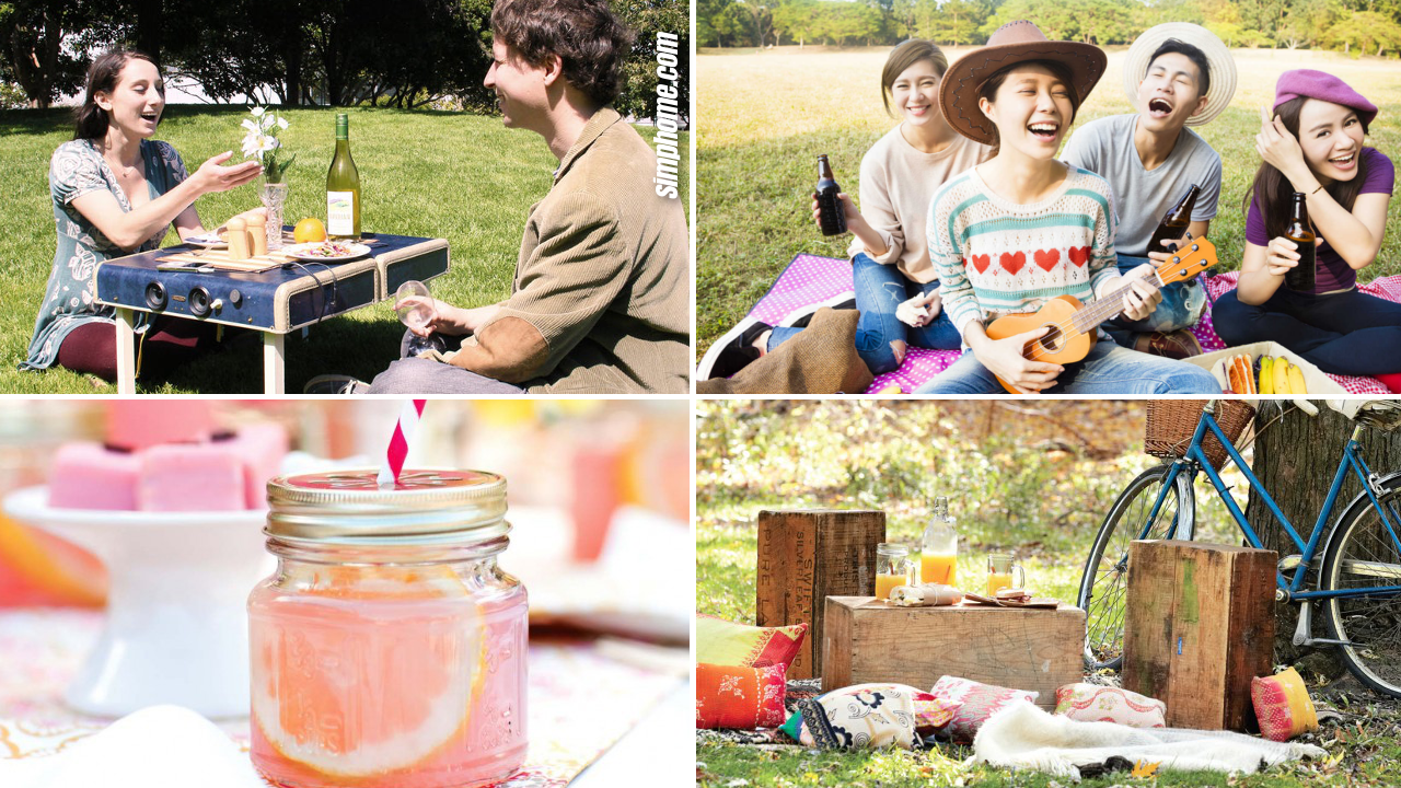 10 Ideas How to Make an Amazing Backyard Picnic by Simphome.com