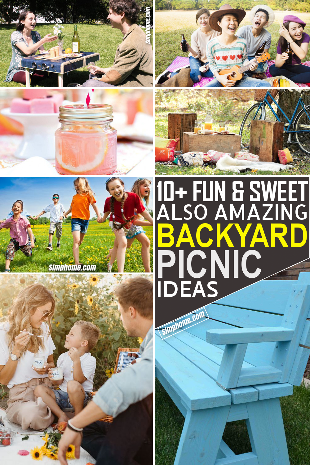 10 Ideas Of How to Build Amazing Backyard Picnic via Simphome.com