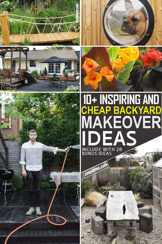 10 Inspiring and Cheap Backyard Makeover Ideas by Simphome.com