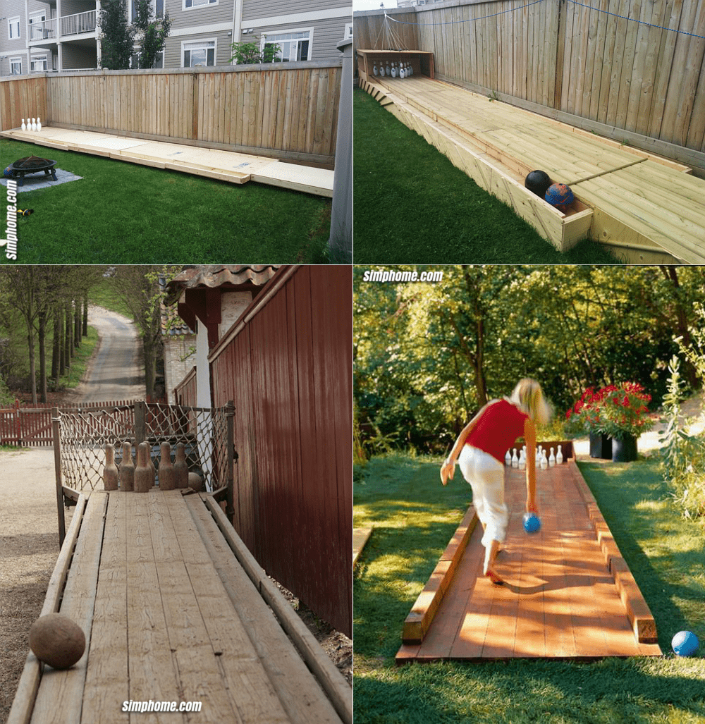 2.Simphome.com Build Your Own Bowling Alley in Your Backyard