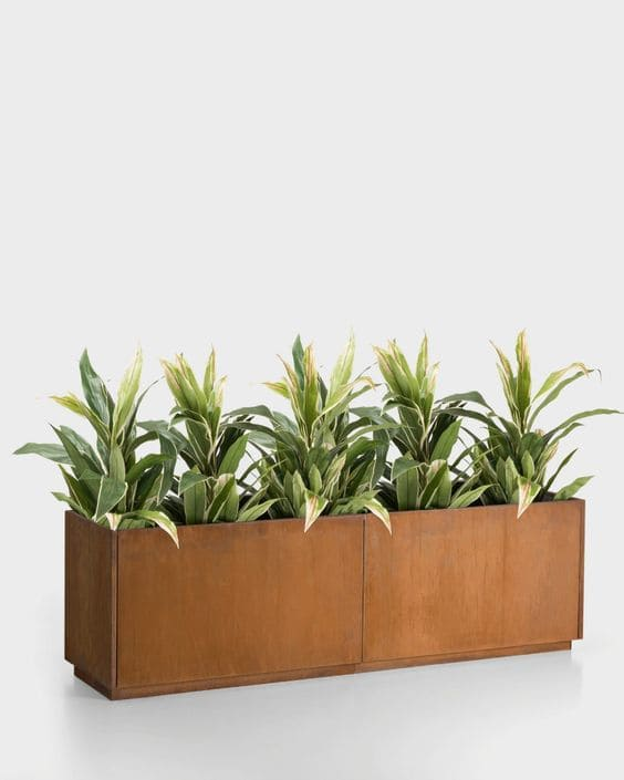 3.Simphome.com Use Planters or Boxed in Areas 2