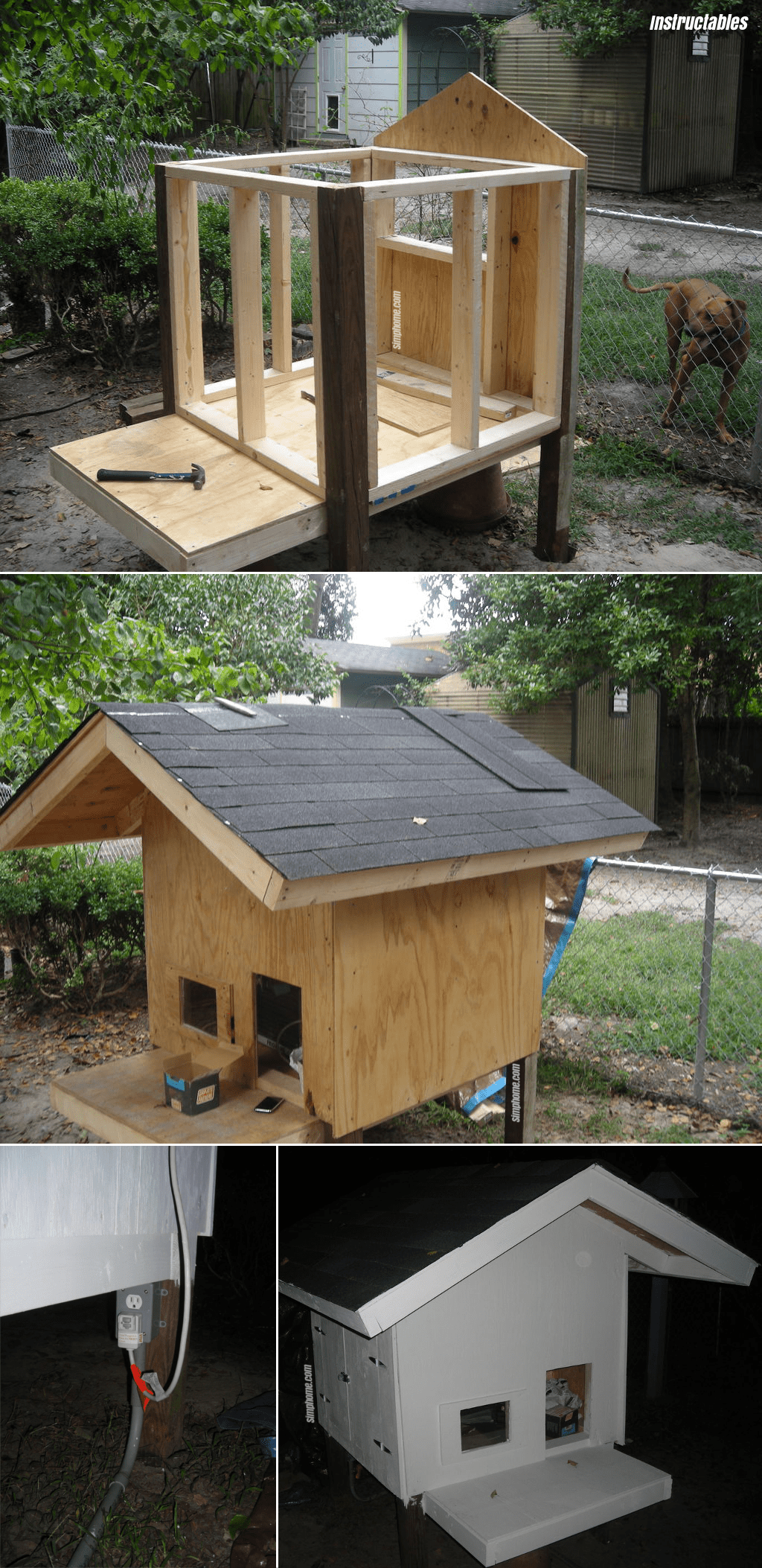 5.Air Conditioned Dog Kennel By Simphome.com