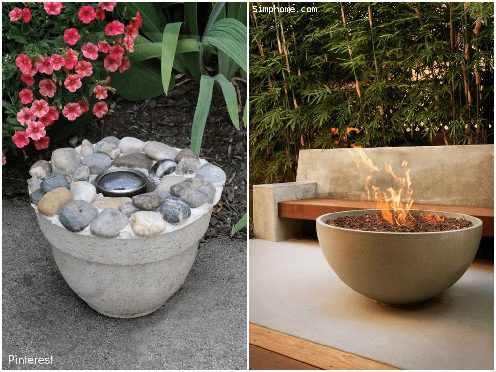 5.Burning Bowl Fire Pit via Simphome.com