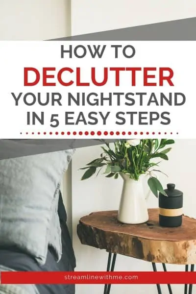 5.Declutter Your Nightstand by Simphome.com