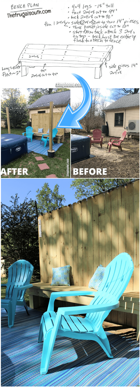 8.Quick Cheap Backyard Makeovers via Simphome.com