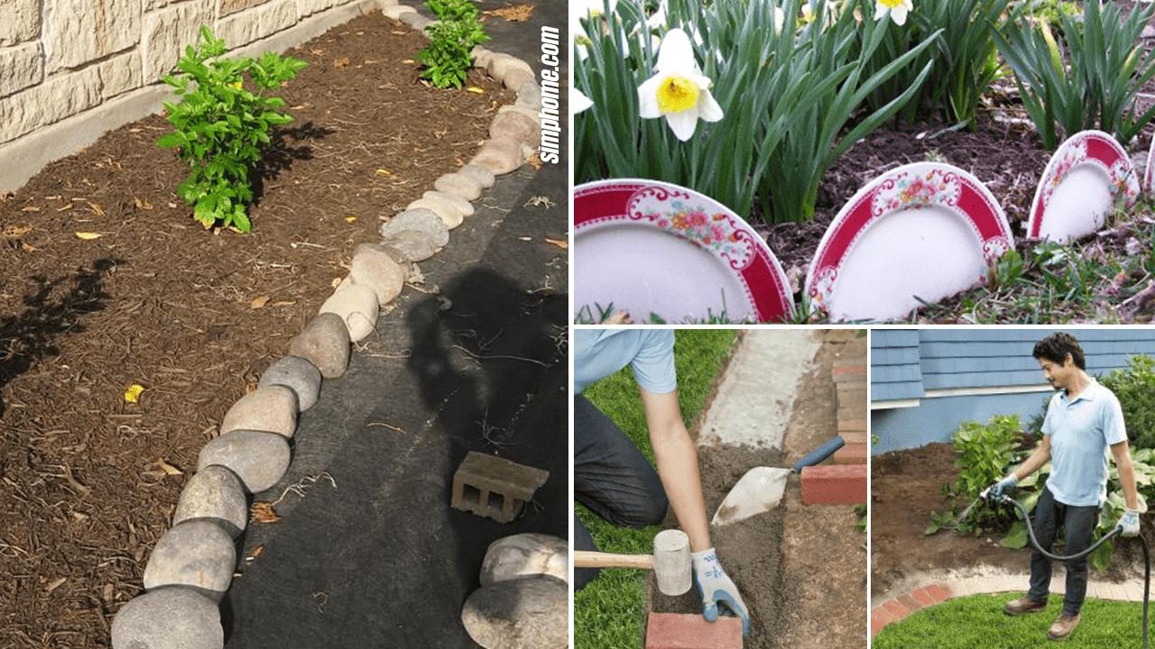 Simphome.com 10 Cheap Garden Bed by Edging Ideas