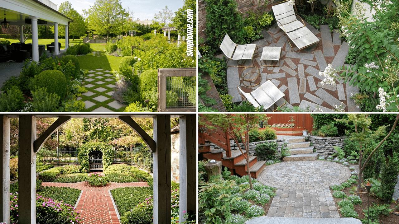 Simphome.com 10 Garden Paving Ideas