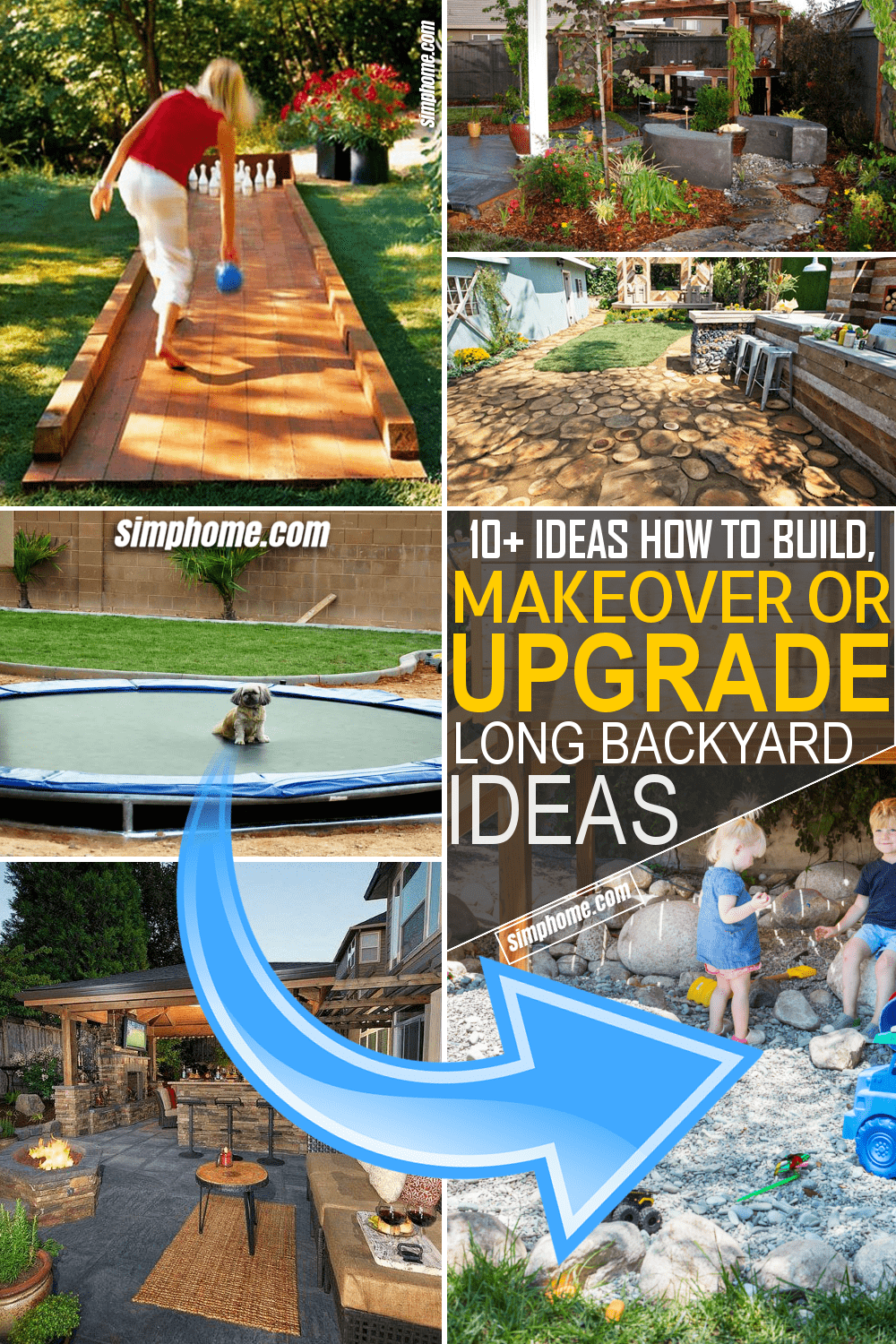 Simphome.com 10 Ideas How to Build and Makeover or Upgrade Long Backyard