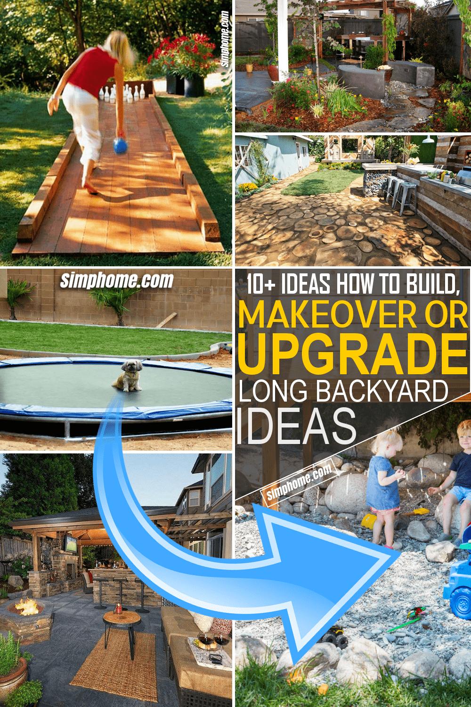 Simphome.com 10 Ideas How to Build and Makeover or Upgrade Long Backyard
