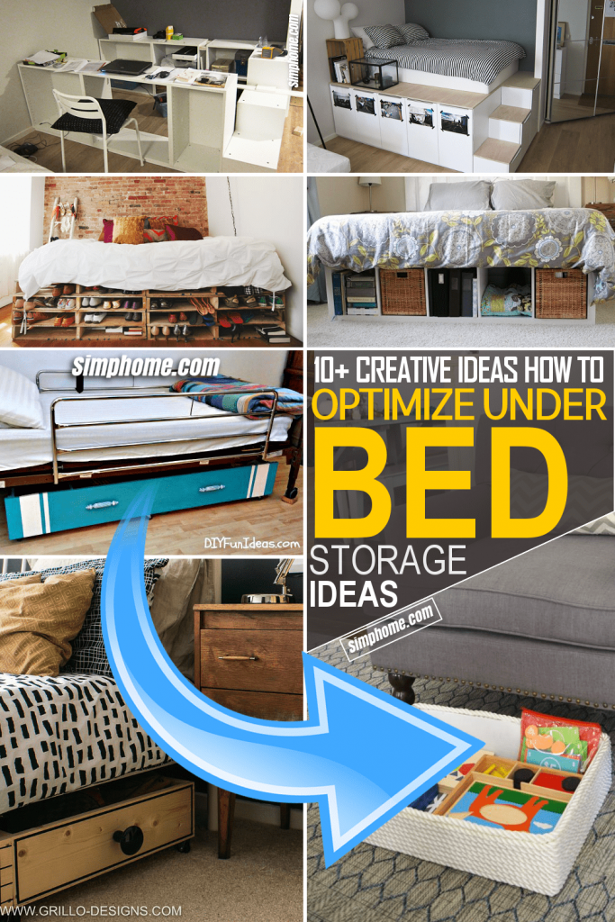Simphome.com 10 Ideas How to Optimize Under the Bed Storage