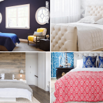 10 Bedroom Accent Wall Ideas by Simphome.com