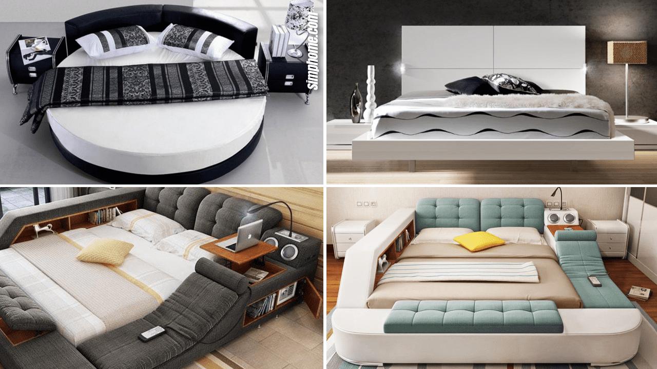 10 Bedroom Bed Ideas via Simphome.com