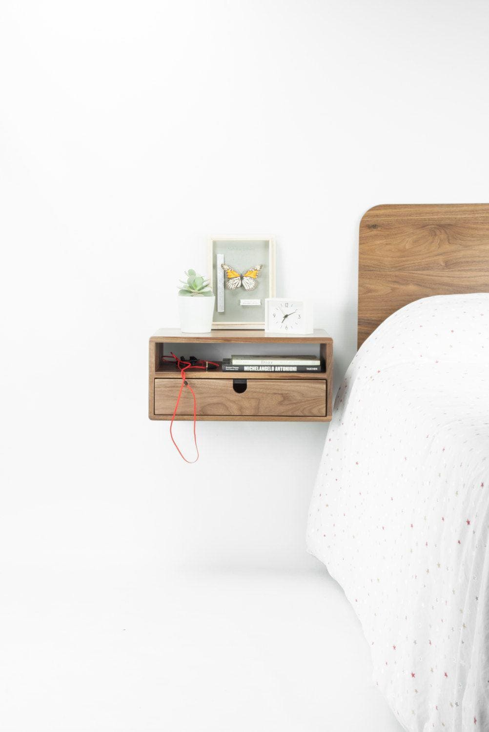 2.Floating Nightstand by Simphome.com