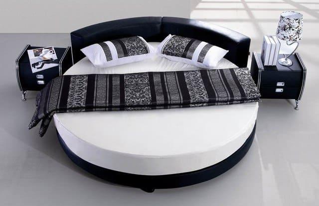 2.Round Bed Project Idea via Simphome.com