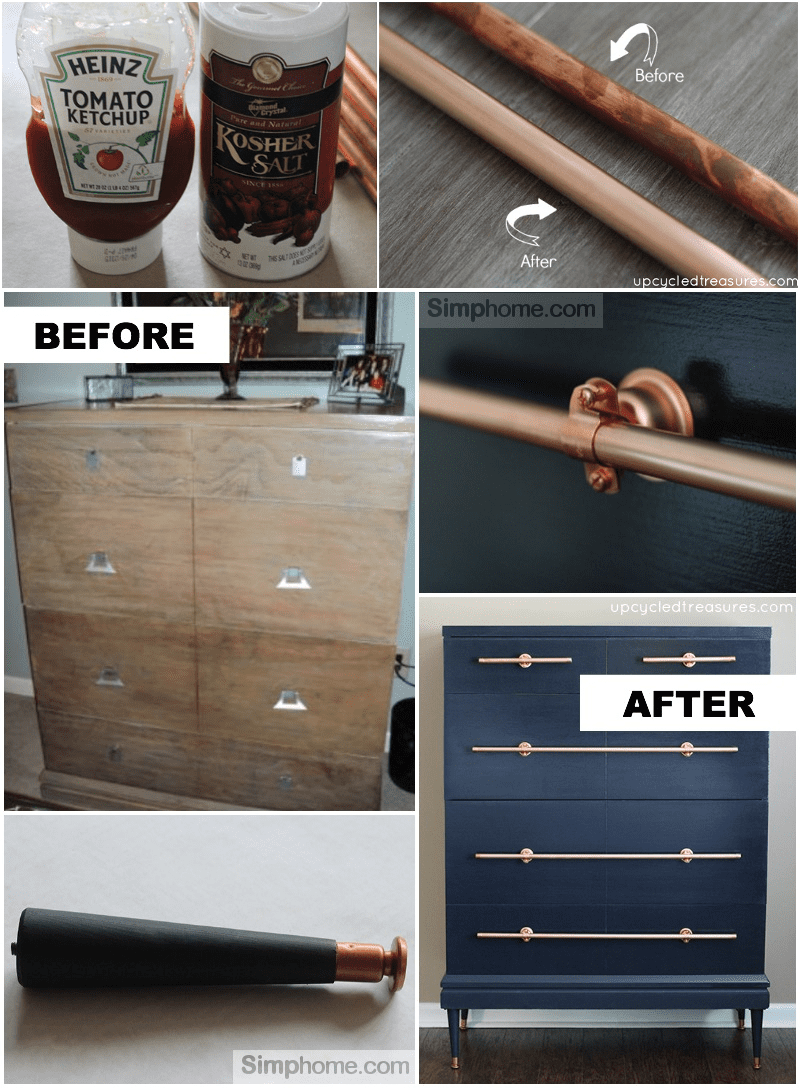 6.DIY Modern Accent Storage Furniture By Simphome.com