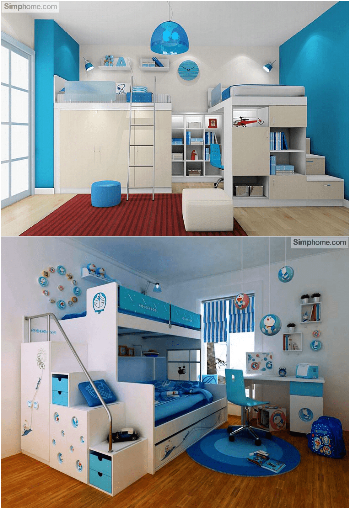 9.Modern Bedroom Accent Furniture for Boy by Simphome.com
