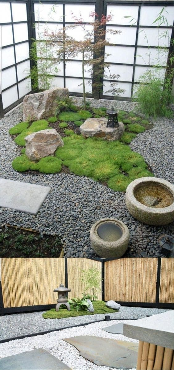 1.Indoor Zen Garden 2 Images via Simphome.com