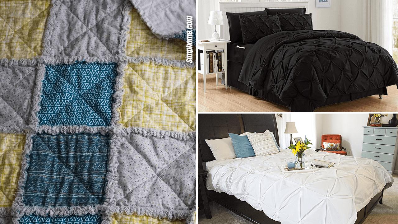 10 Bedroom Comforter Ideas via Simphome.com Thumbnail