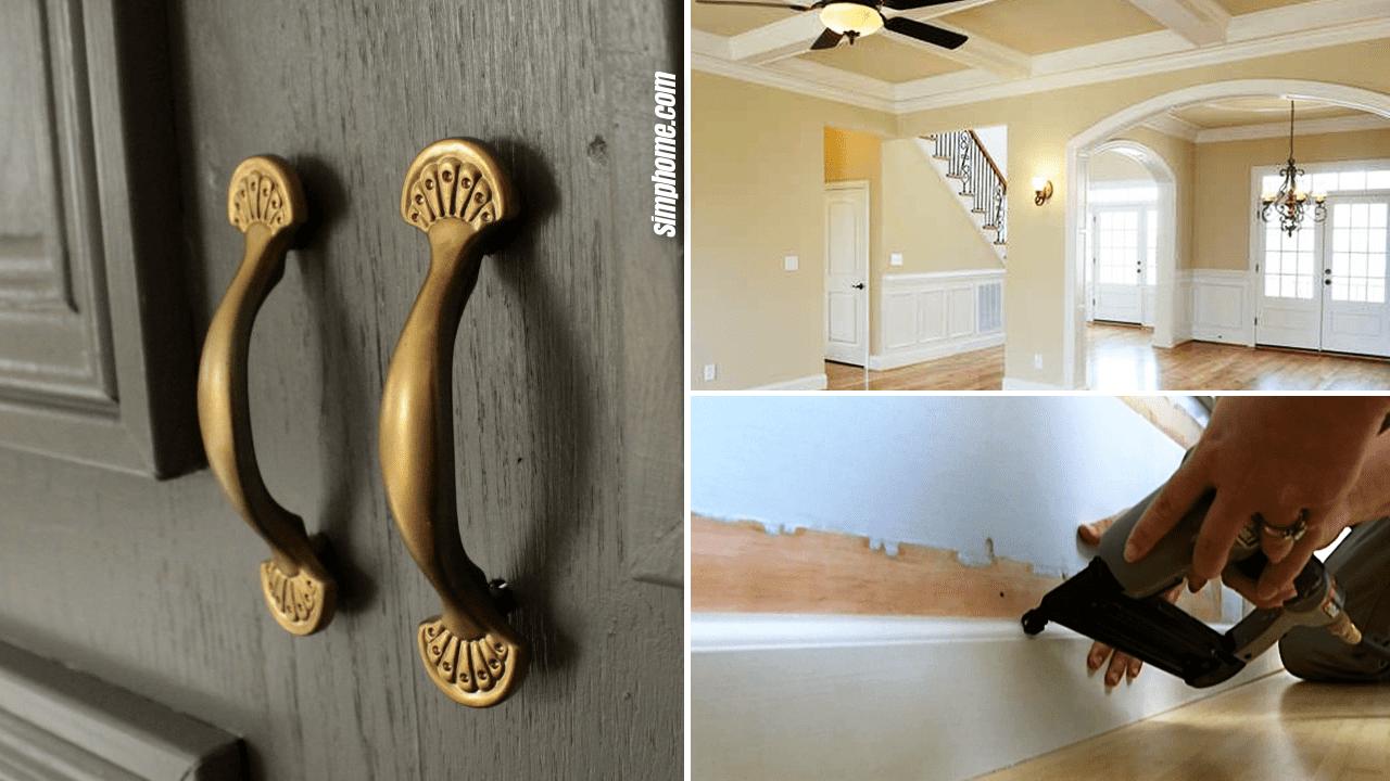 10 Bedroom Molding Ideas via Simphome Thumbnail Image
