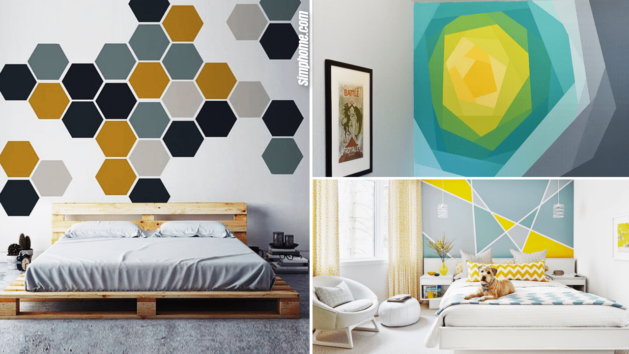 10 Beautiful Bedroom Mural Ideas Simphome