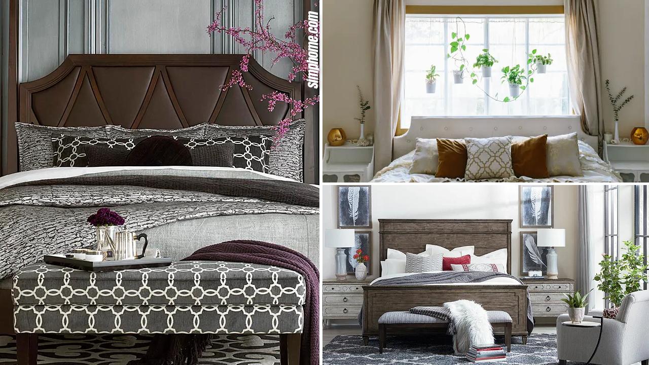 10 Small Bedroom Layout Ideas via Simphome.com