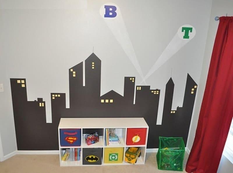 10.Bedroom Mural Ideas Paint Easy via Simphome.com