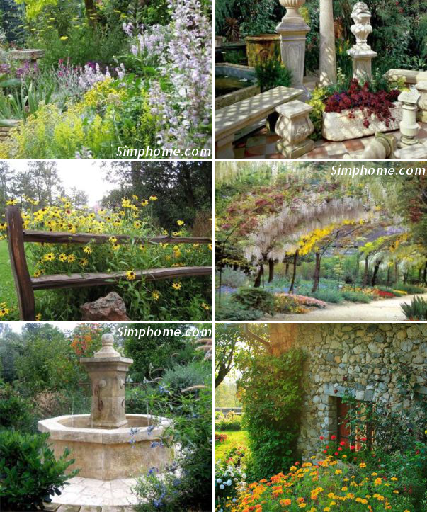 10.Small Country Garden Ideas via Simphome.com