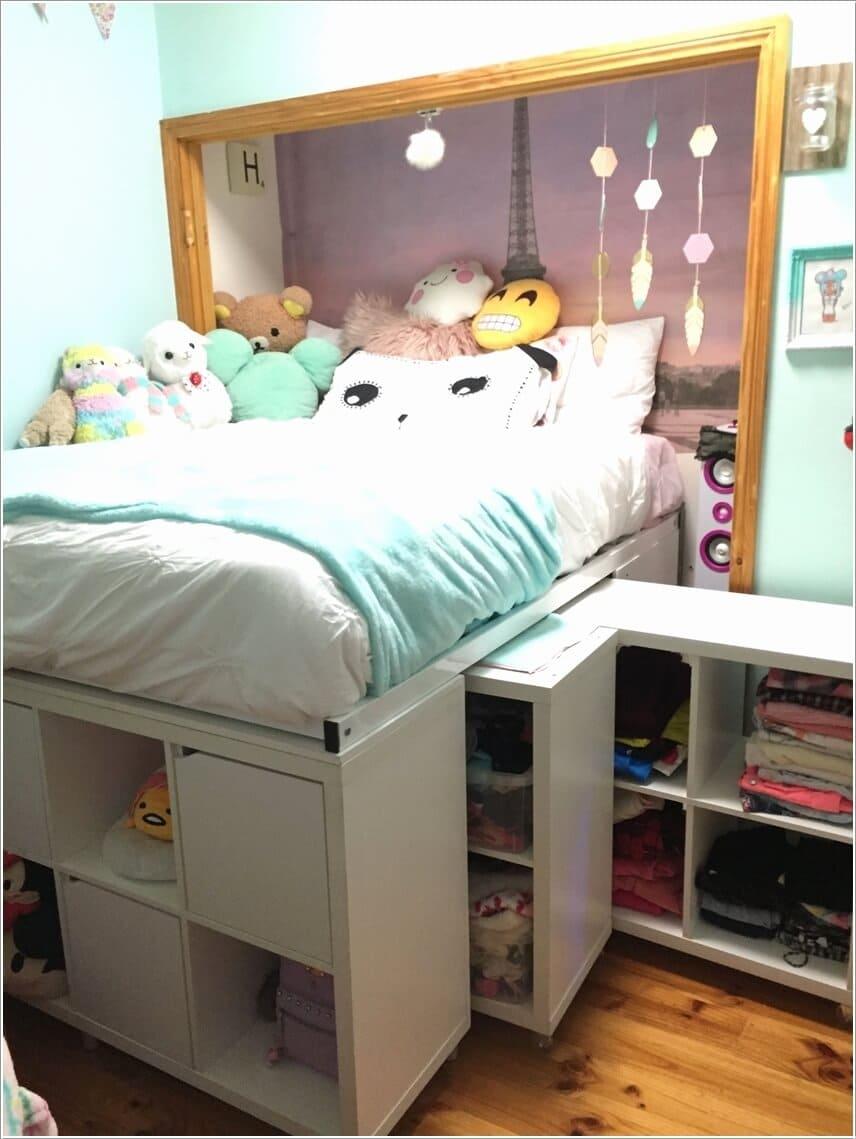 5.Raise Your Bed via Simphome.com