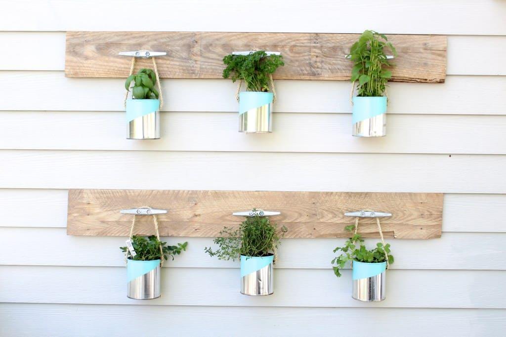 6.Chic Herb Garden idea via simphome.com 1