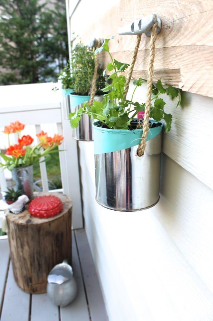 6.Chic Herb Garden idea via simphome.com 2