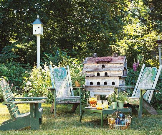 6.Cottage Garden on the Cheap via Simphome.com