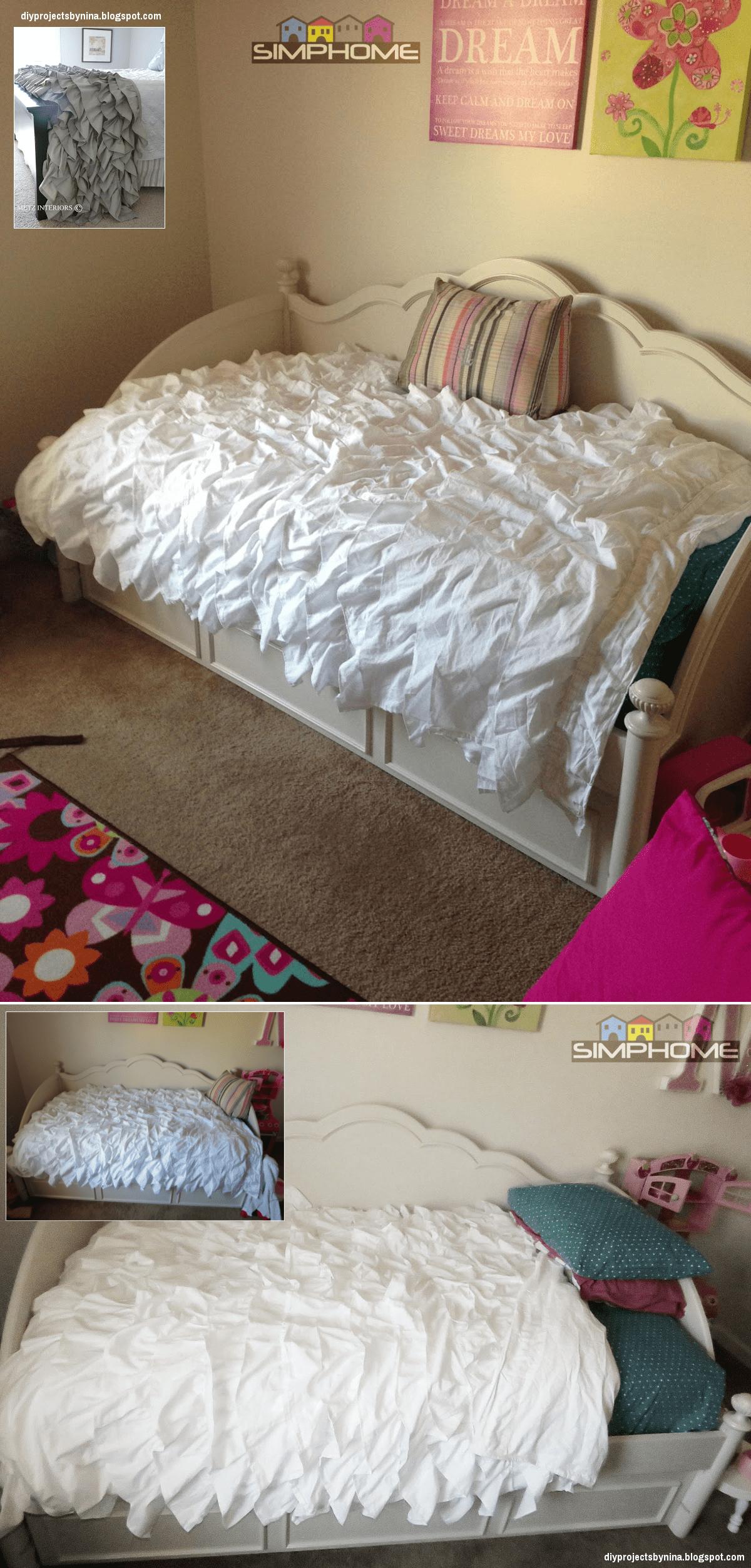 6.Shabby Chic Comforter via simphome.com