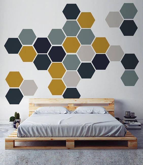 6.Stunning Honey Comb via Simphome.com
