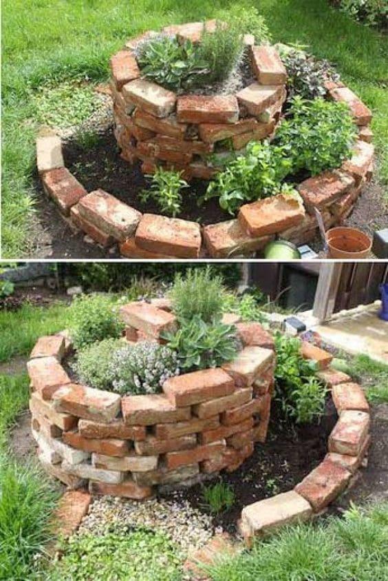 8.Spiral Herb Garden via Simphome.com 2