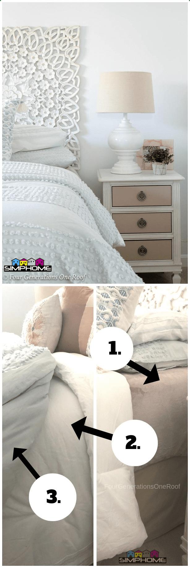 9 The Secret to Craft Fluffy Bedding via Simphome.com