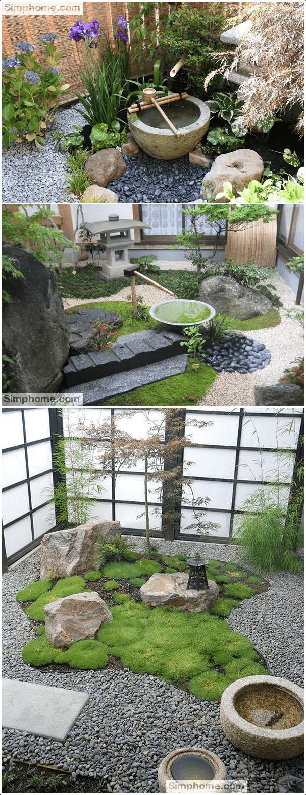 9.Cheap Japanese Style Garden via simphome.com