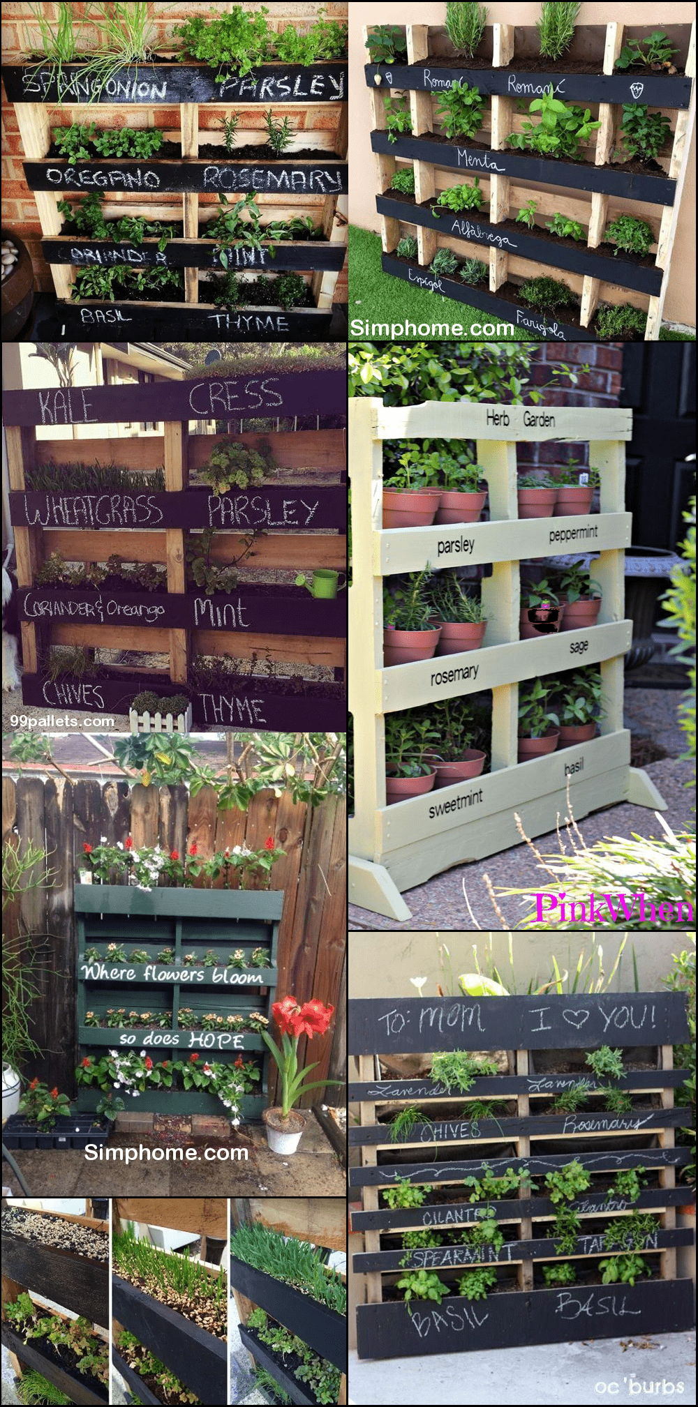 9.Repurpose Pallet Wood via Simphome.com