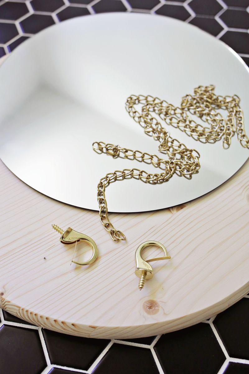 1.Circle Chain Mirror Preparation via Simphome.com