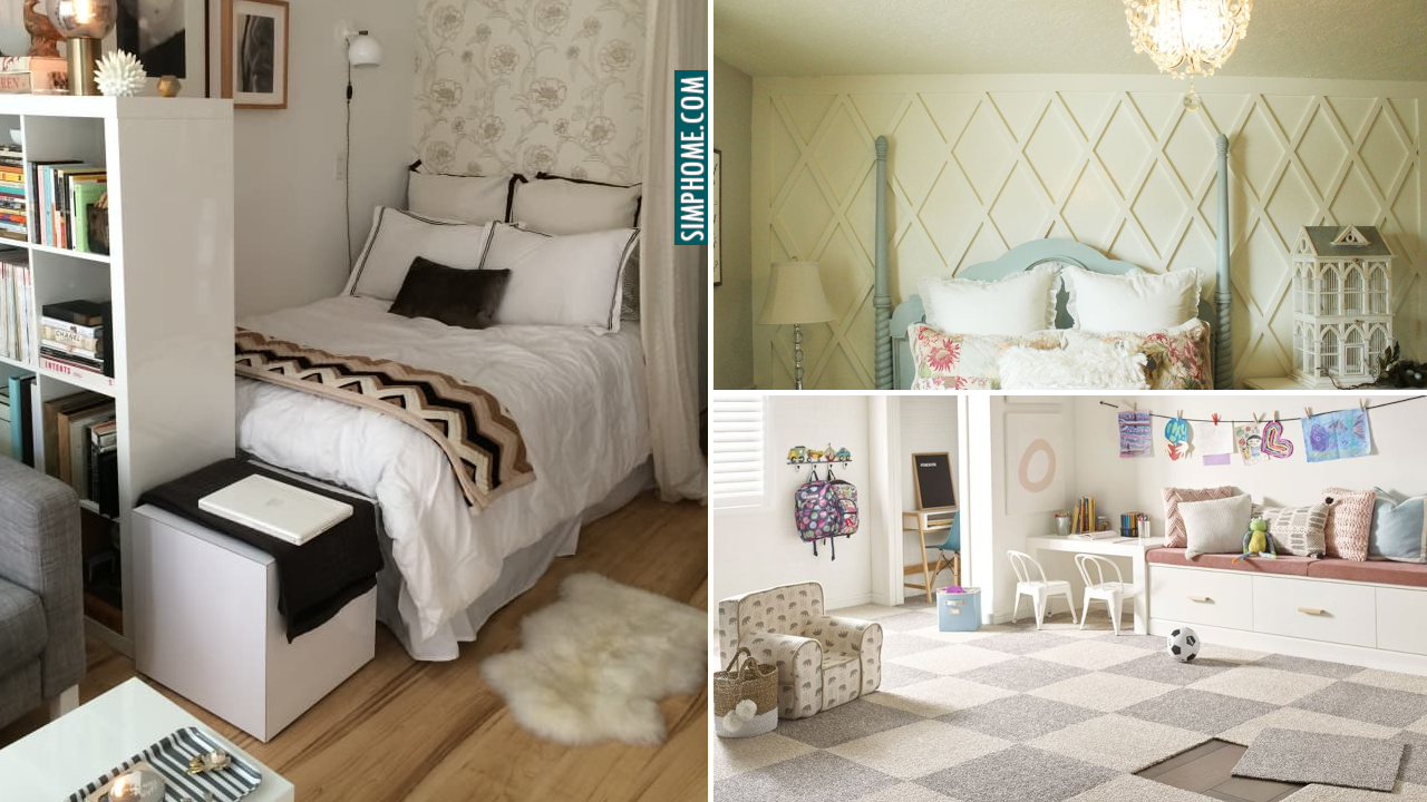 10 Bedroom Apartment Improvement Ideas via Simphome.com