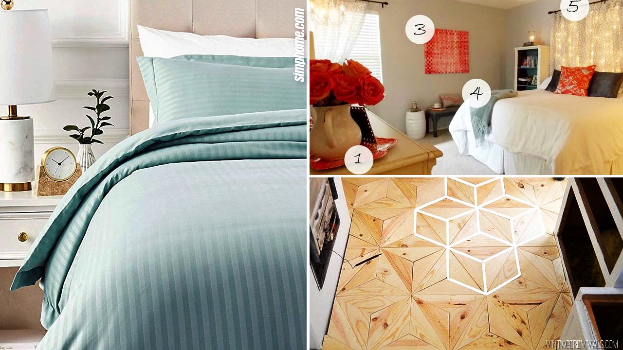 10 Bedroom Redo Ideas via Simphome.com