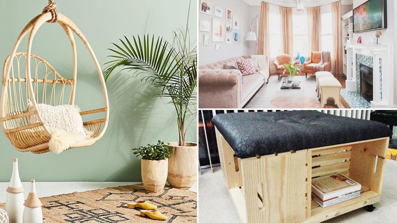 10 Ideas How To Upgrade and Improve Small Living Room via Simphome.com