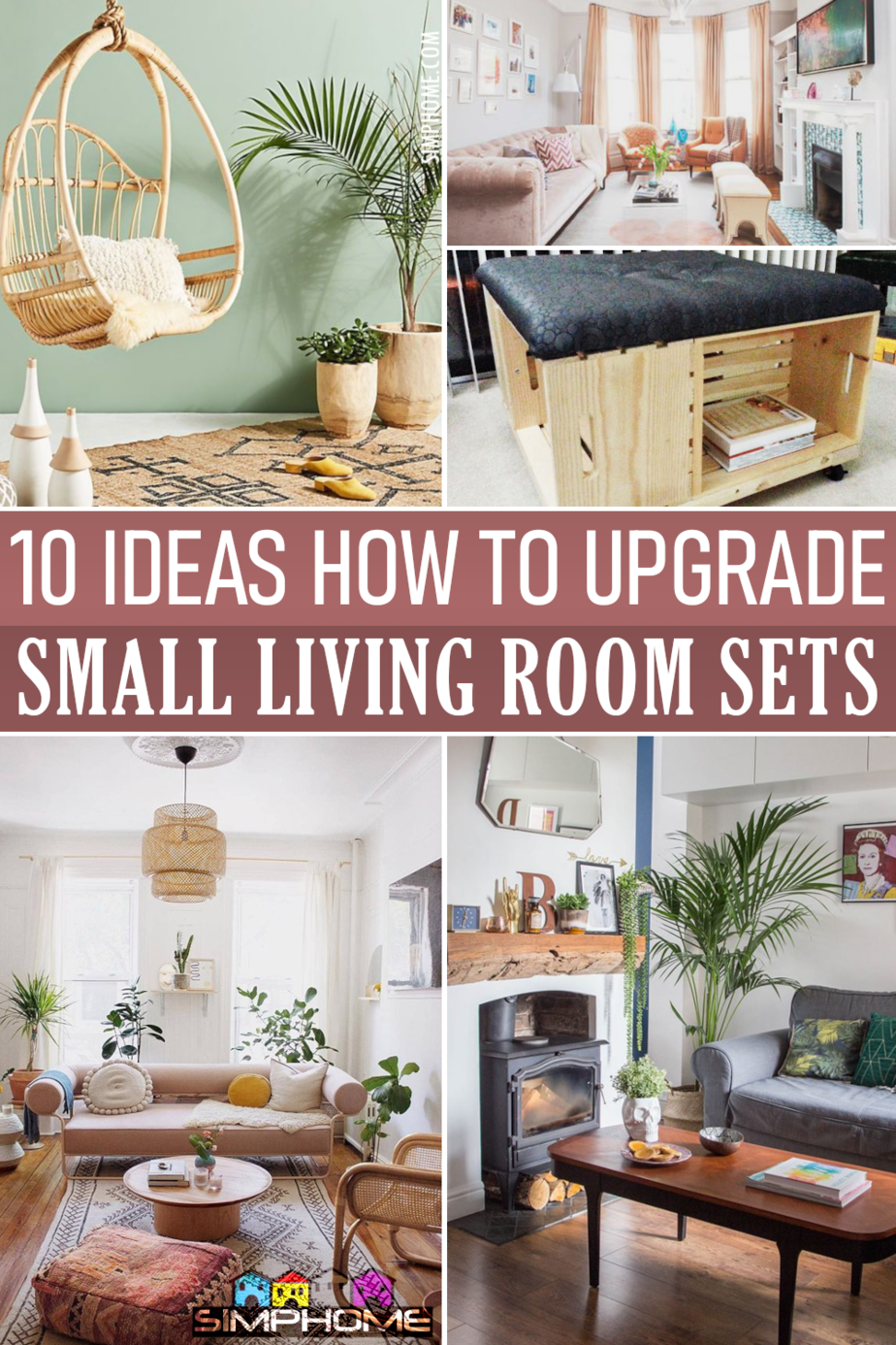 10 ideas how to upgrade and improve small living room set