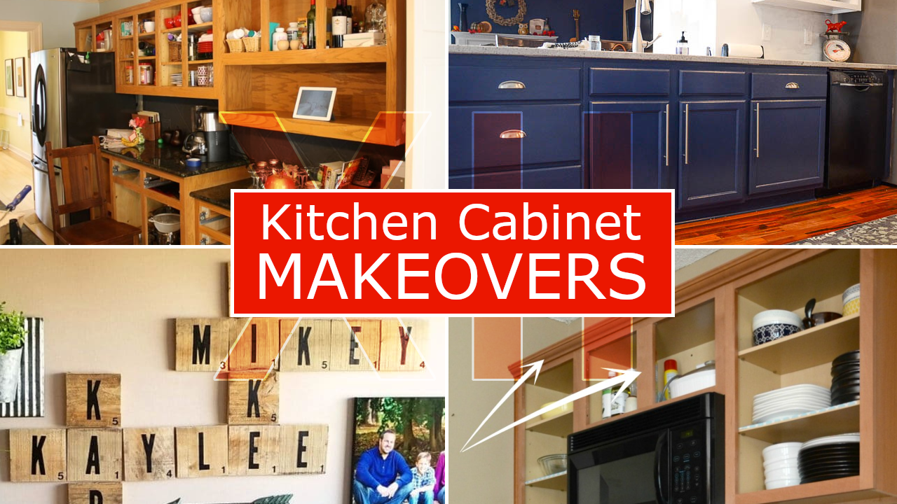 12 Kitchen Cabinet Makeovers via Simphome.com