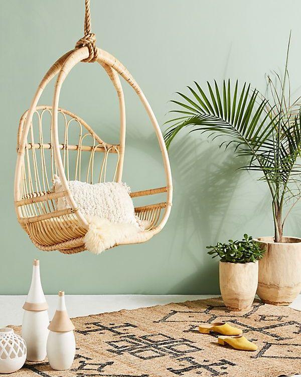 4.Try Swing Chair via Simphome.com