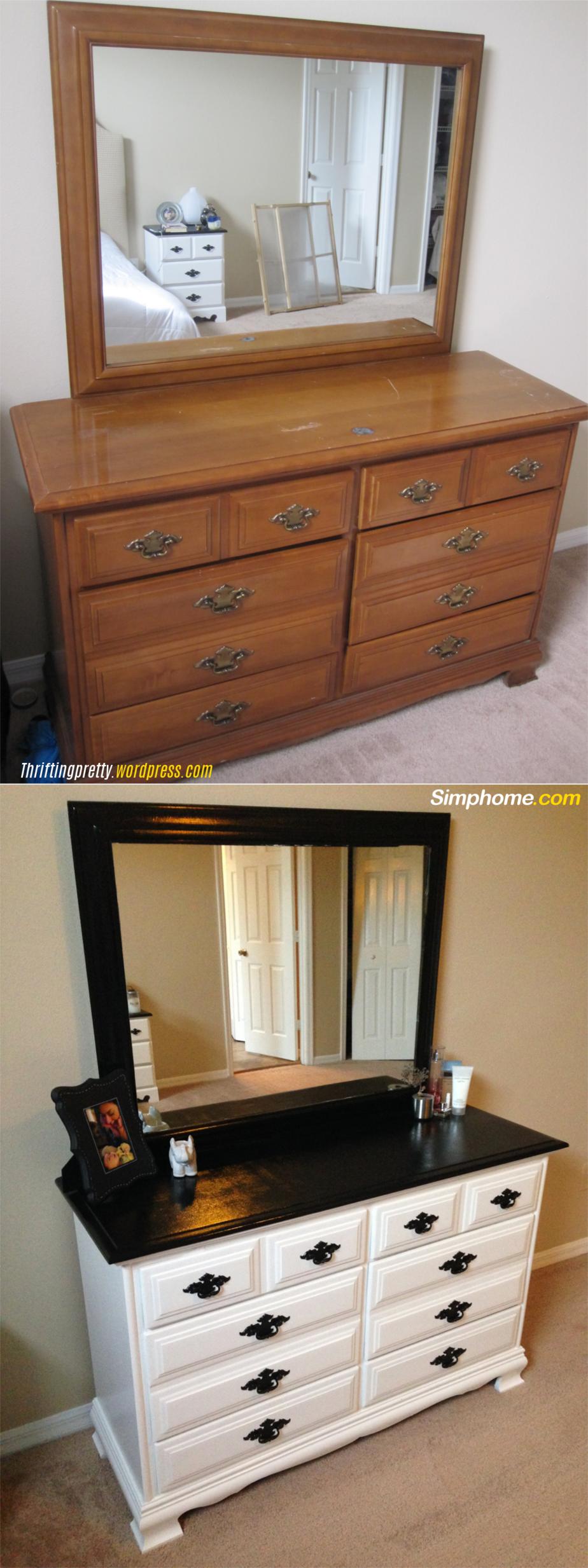 9.Redo Bedroom Furniture via Simphome.com