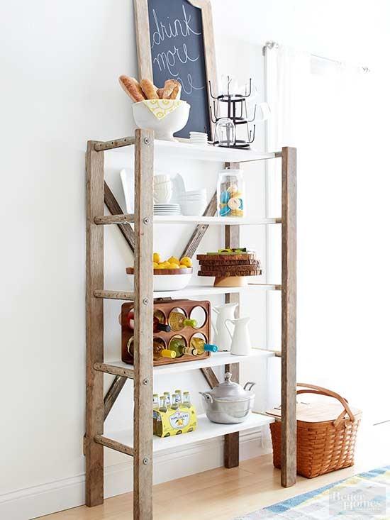 1.Kitchen Shelves Storage by simphome.com