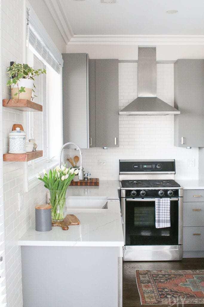1.Organize the kitchen right and make it smart via Simphome.com