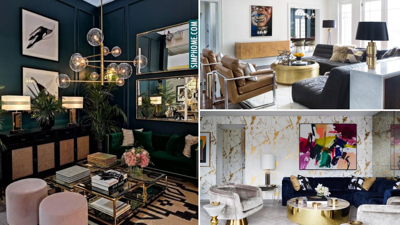 10 Contemporary Living Room Ideas via Simphome.com